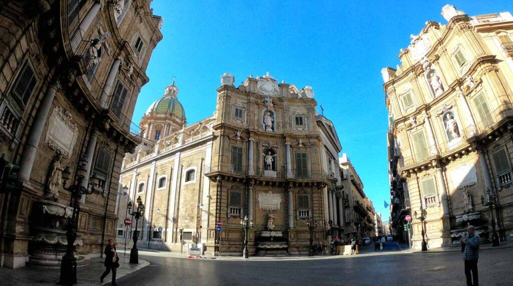 I Quattro Canti, Palermo