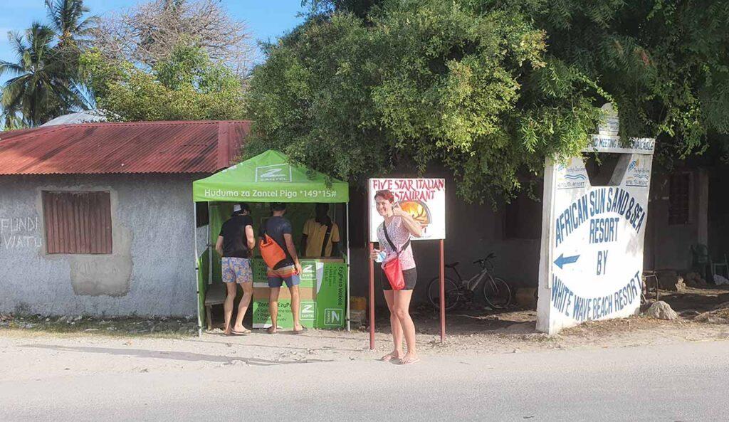 Ecco dove acquistare una SIM a Zanzibar