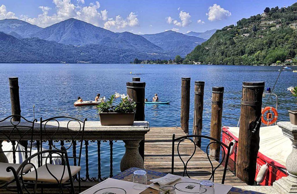 Luci sul Lago, vista dal ristorante