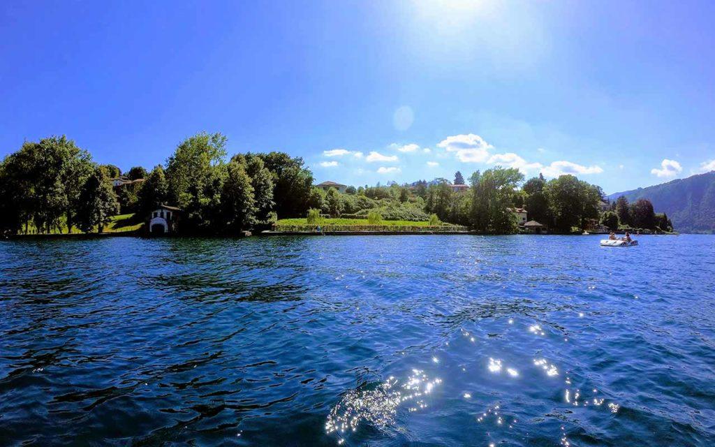 Le sponde del Lago d'Orta