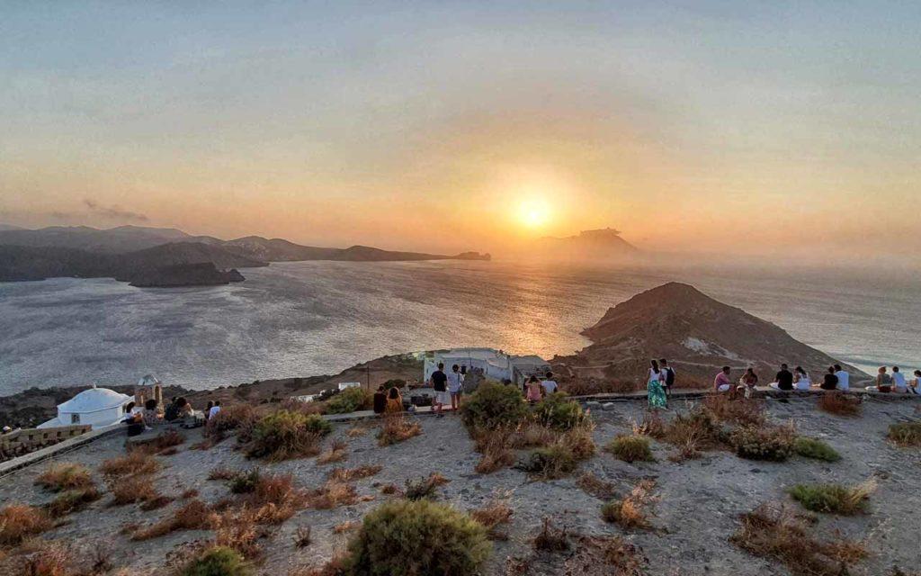 Plaka, i migliori tramonti di Milos